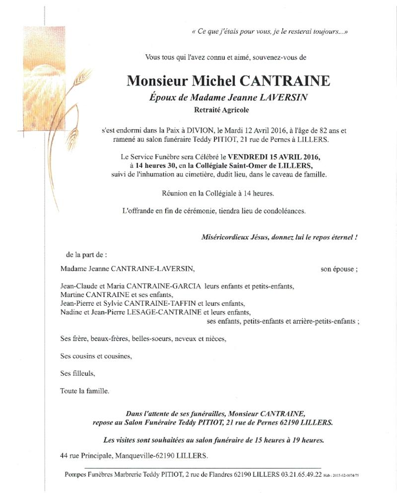 Mr michel cantraine
